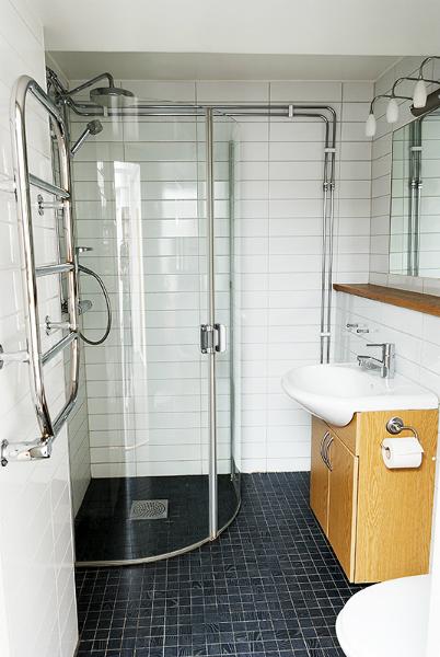 Gästlägenheten, dusch
